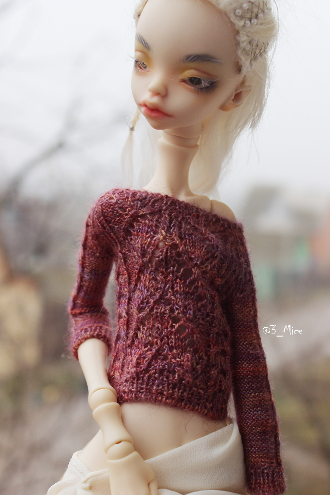 Sweater for Kid Doll Chateau BJD