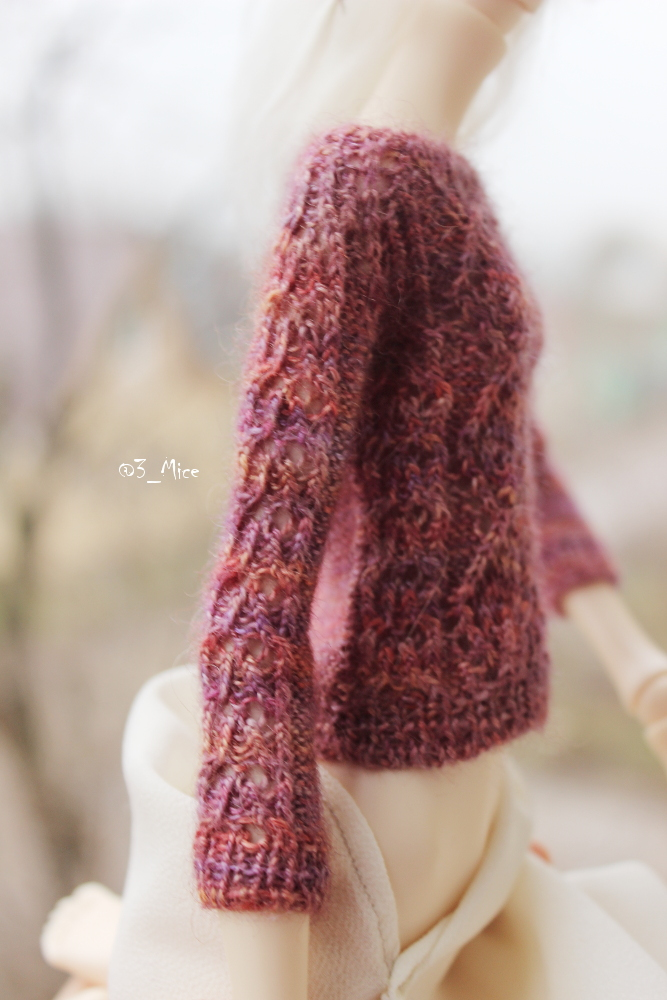 Sweater for Kid Doll Chateau BJD k07 body