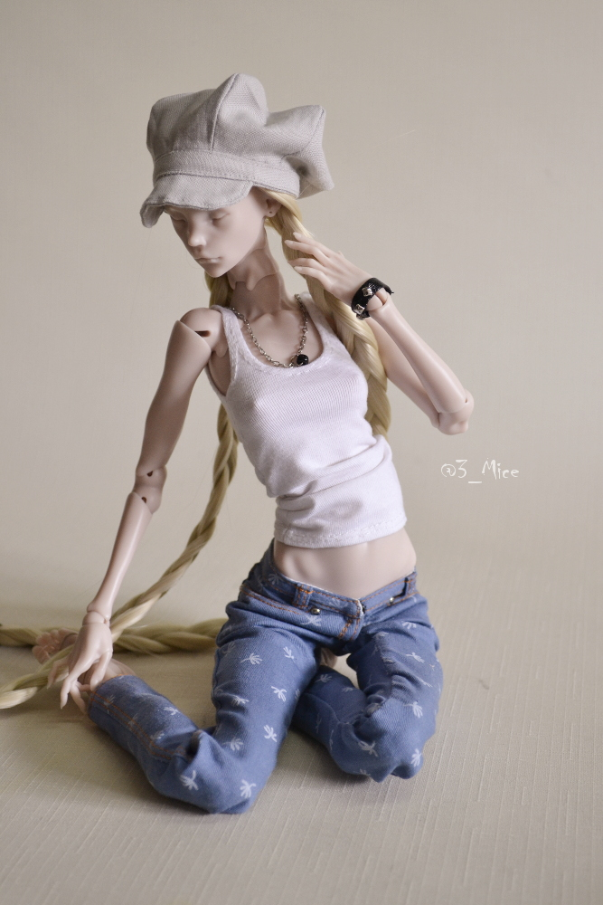 clothes for art doll Chimeradoll