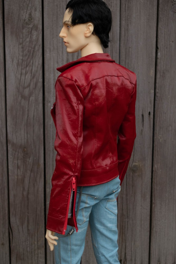 Red jacket for LLT doll