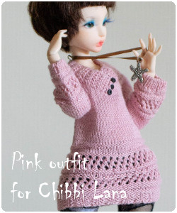 Pink outfit for Chibbi Lana Lillycat
