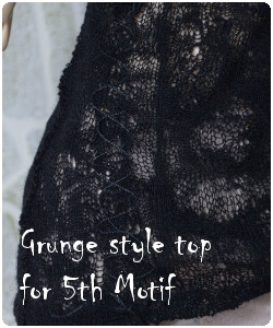Grunge style for fifth motif body