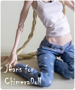 to order jeans for chimeradoll