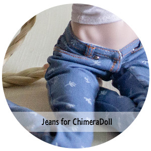 to Order jeans for Chimera doll